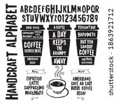 "font ""coffee "" is inspired by... 