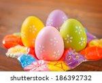 easter eggs | Shutterstock . vector #186392732