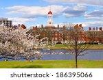 harvard in the spring | Shutterstock . vector #186395066