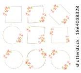 watercolor minimal...   Shutterstock .eps vector #1864038328