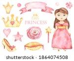 Little Princess Girl  Crown ...