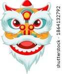 Chinese Lion Head Dance On...