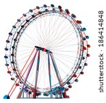 colorful double carousel vector ...   Shutterstock .eps vector #186414848