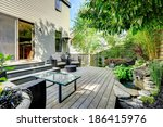 Nice Summer Backyard With...