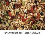 Closeup Of Homemade Granola...