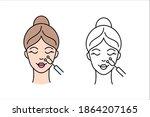 micro current medicine... | Shutterstock .eps vector #1864207165