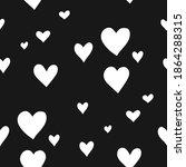 valentines seamless pattern... | Shutterstock .eps vector #1864288315