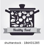 food design over gray...   Shutterstock .eps vector #186431285