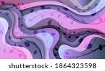 translucent  smoothly curved... | Shutterstock .eps vector #1864323598
