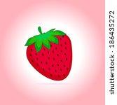 illustration of ripe red... | Shutterstock .eps vector #186435272