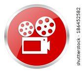 movie icon | Shutterstock . vector #186452582