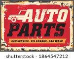 auto parts  car service  oil... | Shutterstock .eps vector #1864547212