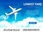 Lowest Fare Vector Poster With...