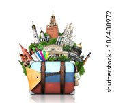 Russia  Landmarks Moscow  Retr...