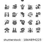 ethics. code of business ethics ... | Shutterstock .eps vector #1864894225