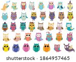 Big Collection Of Cute Owls....