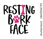 Resting Bark Face   Words With...