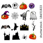 cartoon vector elements | Shutterstock .eps vector #18651823
