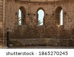 Medieval Ruins Of Church Of St...