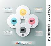 modern infographic option... | Shutterstock .eps vector #186534038