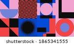 abstract geometric vector...   Shutterstock .eps vector #1865341555