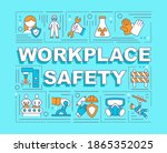 workplace safety word concepts... | Shutterstock .eps vector #1865352025