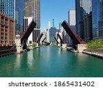 All Chicago River Drawbridges...