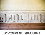 an old desolate building the... | Shutterstock . vector #186545816