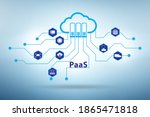 paas concept   platform as a...   Shutterstock . vector #1865471818