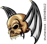 The Dracula Head Skull With The ...