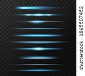 light flashes  flare or... | Shutterstock .eps vector #1865507452