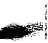 offroad grunge vector tyre... | Shutterstock .eps vector #1865522788