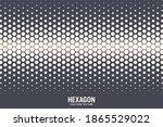 hexagonal shapes vector... | Shutterstock .eps vector #1865529022