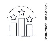 best ranking icon  linear... | Shutterstock .eps vector #1865554828