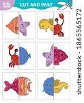 children board game for...   Shutterstock .eps vector #1865565172