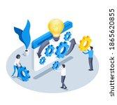 isometric vector illustration... | Shutterstock .eps vector #1865620855