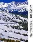 trail ridge road in rocky...   Shutterstock . vector #18656509