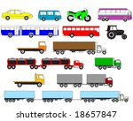 transport | Shutterstock .eps vector #18657847