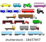 transport   Shutterstock .eps vector #18657847