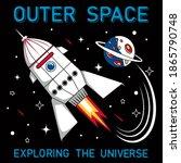 slogan space background. vector ... | Shutterstock .eps vector #1865790748