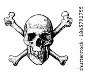 A Skull And Crossbones Icon...