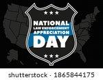 national law enforcement... | Shutterstock .eps vector #1865844175