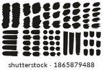 round brush thick short... | Shutterstock .eps vector #1865879488