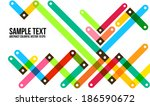 abstract colorful pattern. ... | Shutterstock .eps vector #186590672