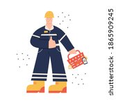 construction or factory... | Shutterstock .eps vector #1865909245