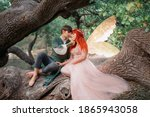 Young couple in love. a man and ...