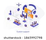 custom support isometric web...