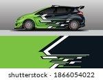 decal car wrap design vector....   Shutterstock .eps vector #1866054022