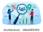 demography abstract concept.... | Shutterstock .eps vector #1866085402