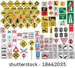 roadsigns | Shutterstock .eps vector #18662035